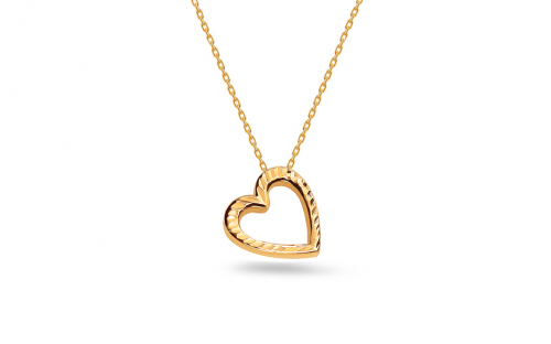 Damen Goldkette Heart 1 - IZ6991