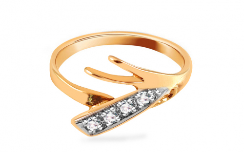 Damen Goldring light & modern