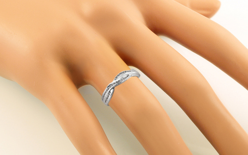 Damen Ring mit Zirkonen - CS9RI1515A