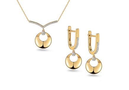 Brillant Gold Set 0,170 ct