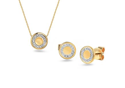 Brillant Goldset 0,030 ct