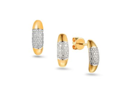 Brillant Goldset 0,060 ct