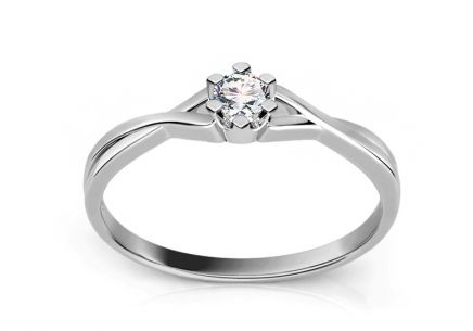 Verlobungsring mit Diamanten 0,060 ct Amazing Love