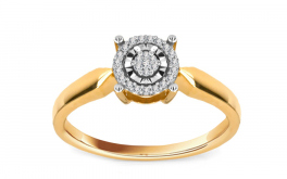 Diamant Ring 0,090 ct Talia 4