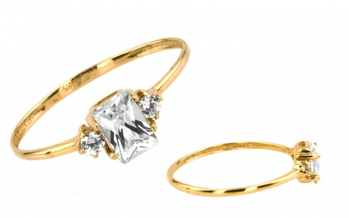 Gold verlobungsring mit stein f r damen izka331 for Verlobungsring blauer stein
