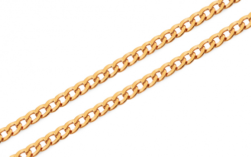 Goldkette Curb 3,7 mm - IZ8085