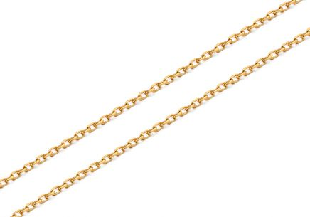 Goldkette Anker 1,1 mm