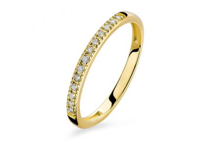 Brillant Goldring 0,130 ct