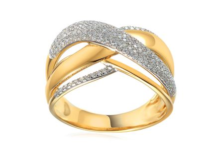 Brillant Ring aus der Kollektion Dubai 0,410 ct