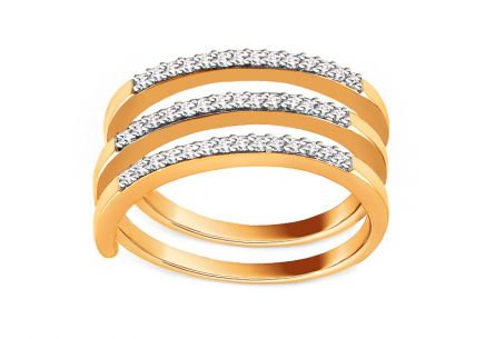Brillant Goldring 0,250 ct