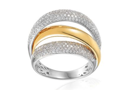 Brillant Ring 0,990 ct