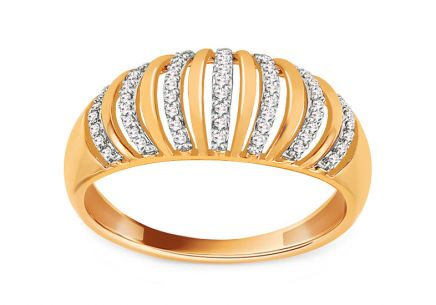 Gold Diamant Ring 0,110 ct Raimonda