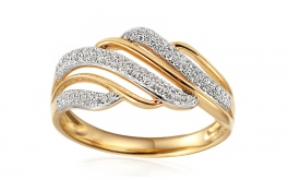Gold Diamant Ring 0,220 ct Amara