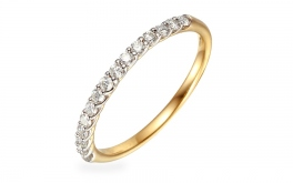Gold Diamant Ring 0,250 ct Carilla