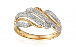 Gold Diamant Ring 0,270 ct Sibel
