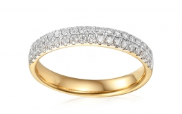 Gold Diamant Ring 0,360 ct Buena