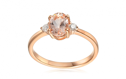 Goldringe - Morganite