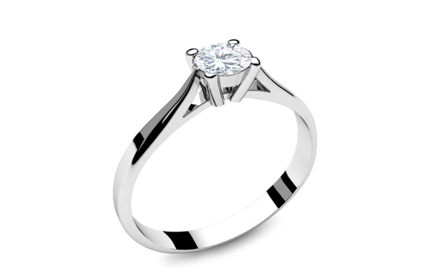 Verlobungsring mit Diamanten 0,150 ct Power Of Love 2 - LRBR018