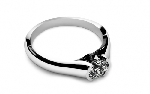 Verlobungsring mit Diamanten 0,150 ct Power Of Love 8 - LRBR016