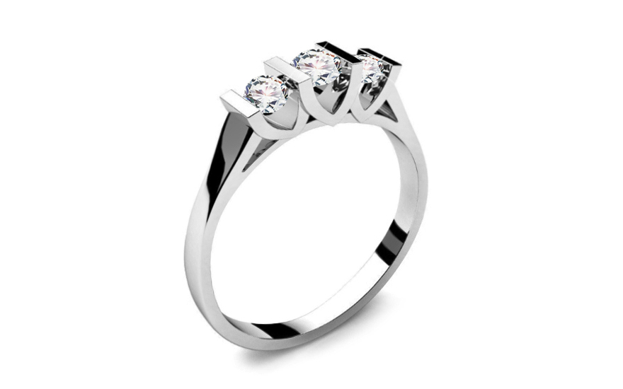 Verlobungsring mit Diamanten 0,310 ct Tree Treasures - LRBR002