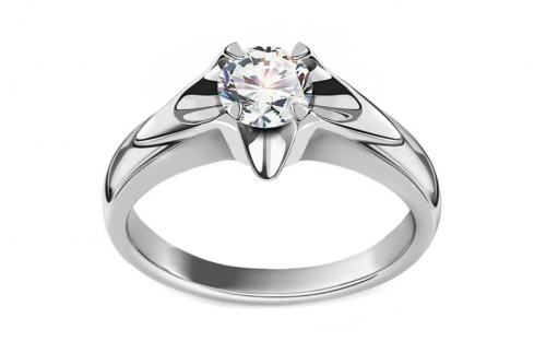 Verlobungsring mit Diamanten 0,500 ct Always big white - CSBR50A