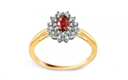 Rubin Ring 0,200 ct Brienne 2