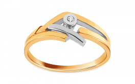Verlobungsring  The discovery of love mit Brillanten 0,015 ct